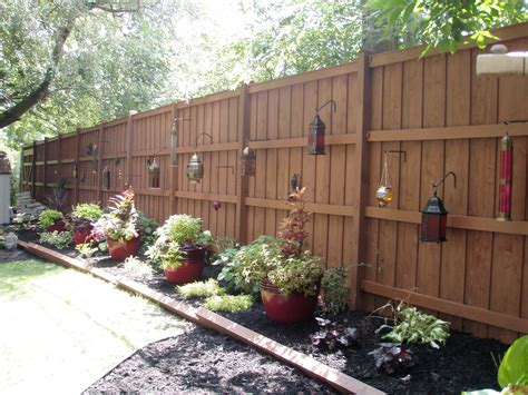 backyard fence decor outdoor landscape 2011 emodel your home