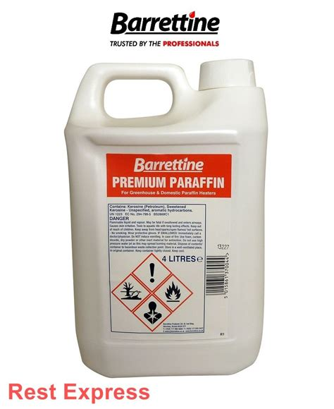 Paraffin L Vs Kerosene by Barrettine Premium Grade Paraffin 4 Litre Kerosene Heater