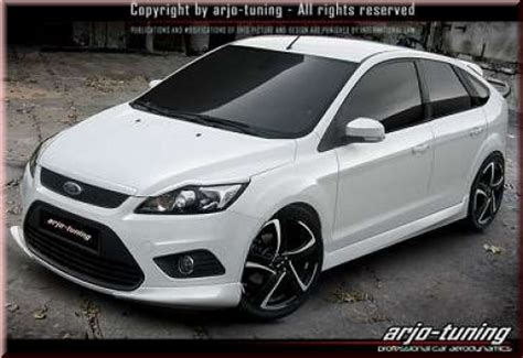 ford focus mk2 facelift ford focus mk2 08 11 facelift side skirts sw tdm tuning kaufen