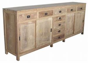 Solid Teak Wood Sideboard Furniture - Contemporary
