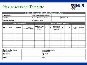 process hazard analysis template virtrencom With risk assessments templates