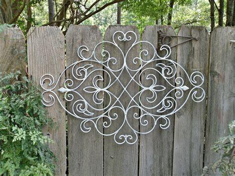 Latest Outdoor Wrought Iron Wall Art