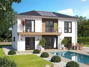 Haus Walmdach Modern : hanlo stadtvilla top star s 159 gartenansicht hanlo haus ~ Lizthompson.info Haus und Dekorationen