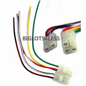 Cdi Cable Wire Harness Plug Gy6 4 Stroke 50cc 150cc