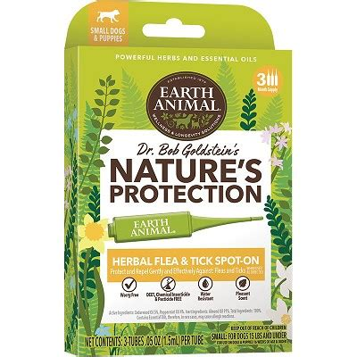 earth animal natures protection herbal flea tick spot