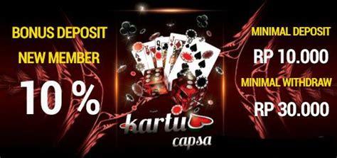 Bandar Capsa Susun - Situs Kingpoker99 menyediakan ...