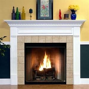 Fireplace Mantel Wood Fireplace Mantel Custom White Wood