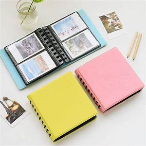68 Pockets Mini Instax Photo Album Holder Candy Color Book