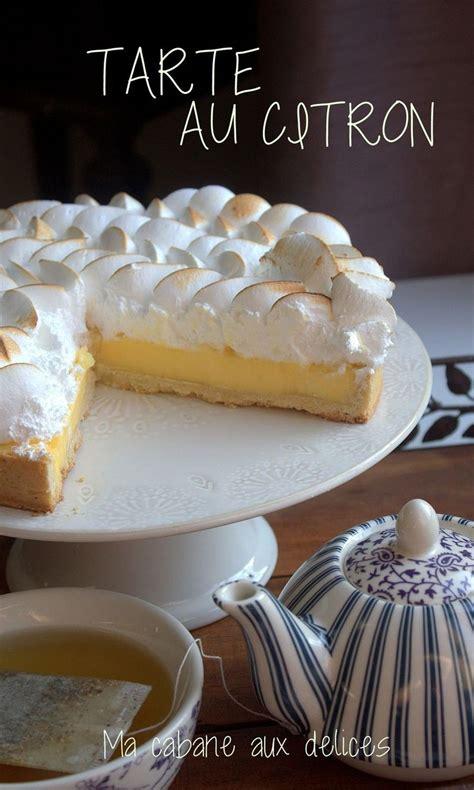 les 25 meilleures id 233 es de la cat 233 gorie tarte au citron
