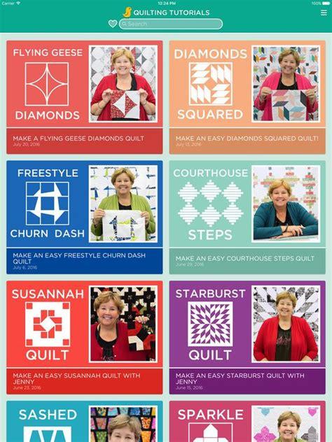 missouri quilt company app quilting tutorials by missouri quilt company on the