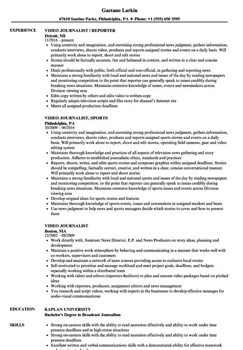 Reporter Description For Resume by Duties And Responsibilities Of A Reporter What Duties Do
