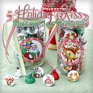 Printable Candy Jar Labels for the Holidays The Graphics