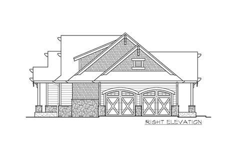plan jd high  craftsman getaway house plans cottage house plans cottage homes