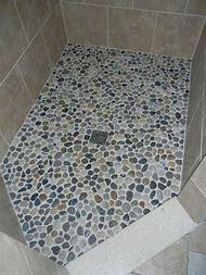 Pebble Shower Floor