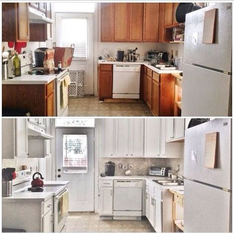 updating oak kitchen cabinets before and after before after 387 budget kitchen update hometalk