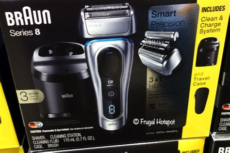 braun series 8 costco sale braun series 8 shaver 129 99 frugal hotspot