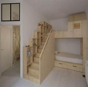 Lit Petit Espace : 17 meilleures id es propos de chambre avec lit mezzanine ~ Premium-room.com Idées de Décoration