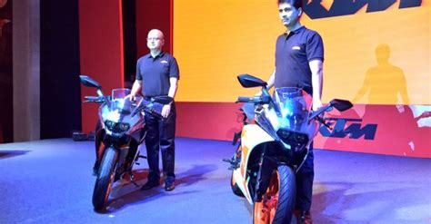 ktm rc  ktm rc launched  india updated