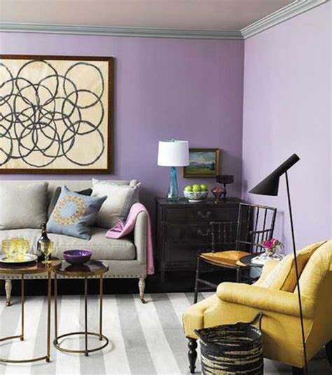 modern interior design ideas  purple color cool