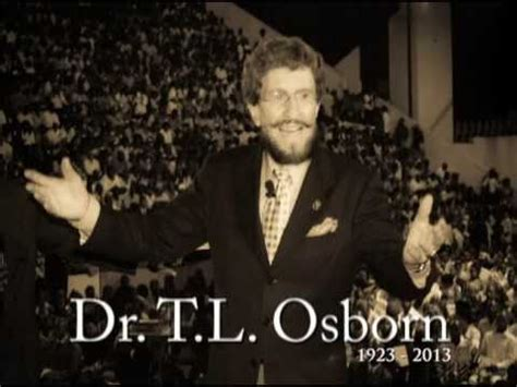 tl l dr t l osborn an apostle to the nations