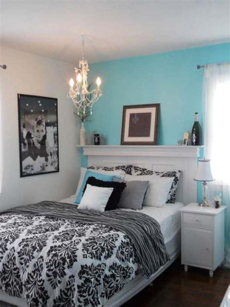 black white  tiffany blue bedding jess bedroom