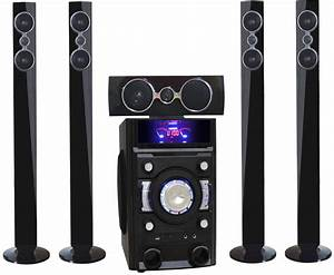 China Home Theater System 5 1 Channel Usb Fm Bluetooth
