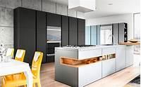 modern euro design Kitchen Cabinets by Kitchen Zilla