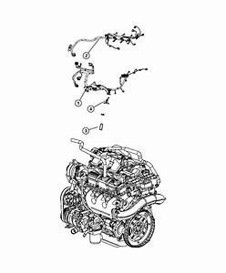 2011 Dodge Nitro Bracket  Engine Wiring  After 06  07  04