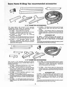 Craftsman 113178200 User Manual 16 Gallon Home N Shop Vac