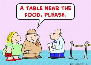 Fatty Foods Cartoon
