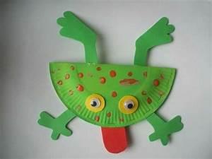 Bricolage 3 Ans : les grenouilles grande bouche les cahiers de jos phine ~ Melissatoandfro.com Idées de Décoration