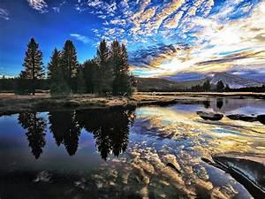 Tuolumne, River, County, California, United, States, 4k, Ultra, Hd, Wallpaper, For, Desktop, Laptop, Tablet