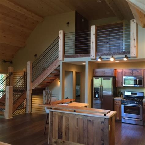 Open Concept  Ee  Living Ee   Space Lofty Mountain Homes