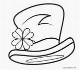 Leprechaun Coloring Printable Pages Hat Cool2bkids Template sketch template