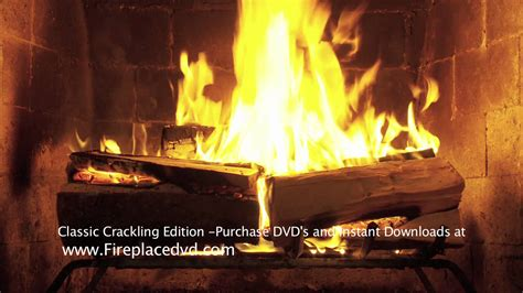 fireplace crackling yule log in hd 1080p free