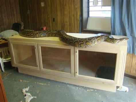 big snake enclosures page
