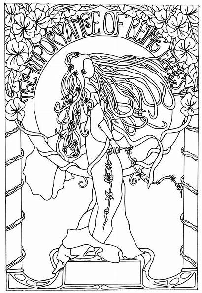 Coloring Nouveau Pages Adult Dessin Inspiration Deco