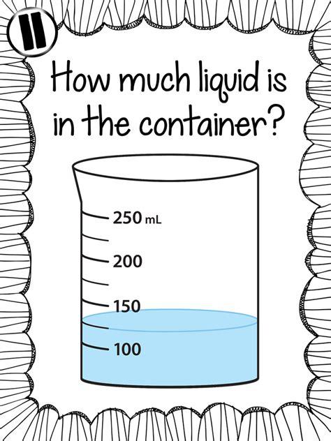 Ginger Snaps Measuring Liquid Volume