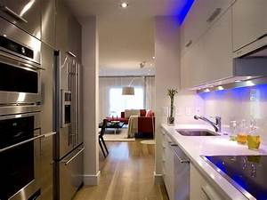 small galley kitchen ideas pictures tips from hgtv With modern galley kitchen design ideas