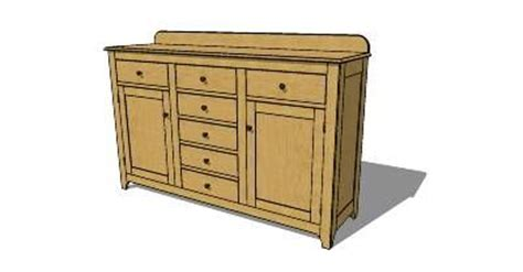 shaker sideboard plans woodworking projects plans