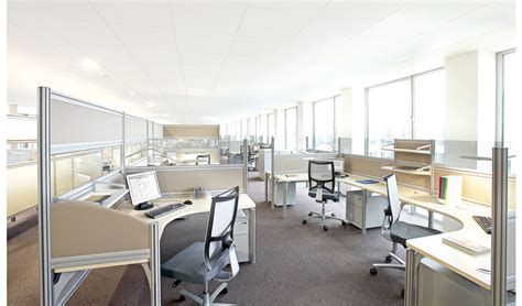 bureaux open space bureau open space helice clen equinoxe mobilier