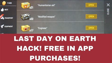 how to get last day on earth hack on iphoneios 2017