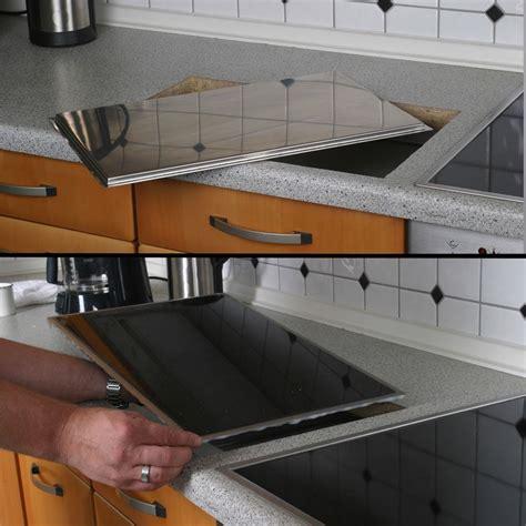 poser plan de travail cuisine planche à découper intégrée en granit galaxy cacgt001