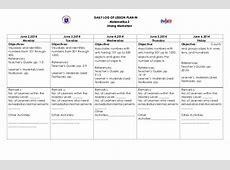 K to 12 Grade 2 DLL MATHEMATICS Q1 – Q4