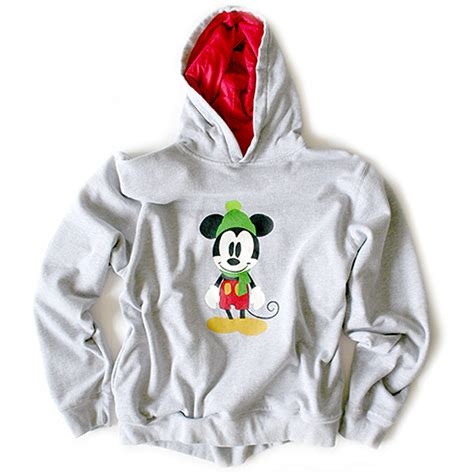 light up christmas sweaters sale disney mickey mouse ugly christmas hoodie sweatshirt the