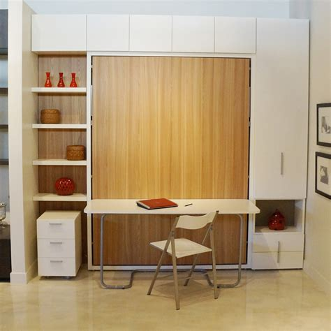 murphy bed wall unit with desk 8 versatile murphy beds that turn any room into a spare