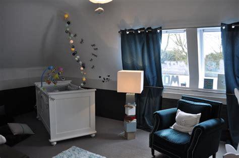 chambre bébé bleu et gris couleur chambre bébé garçon