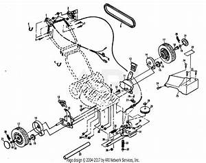 Poulan Xe850pear Mower Parts Diagram For Drive Assembly