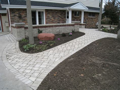 paver front walkway front entrances walkway brick paver front paths