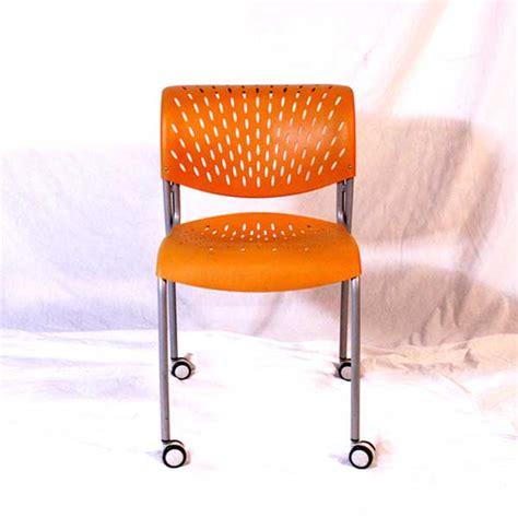 orange izzy designs guest chair   orlando office